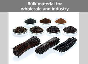 Bulk material for wholesale and industry
