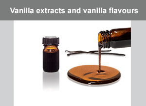 Vanilla extracts and vanilla flavours